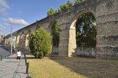 Akvedukt av Coimbra Fotografering för Bildbyråer
