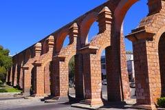 Akvedukt I Royaltyfri Fotografi