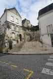 Akvedukt i Arcueil-Cachan, Paris, i morgonen Royaltyfria Bilder