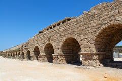 Akvedukt i det heliga landet Arkivfoto