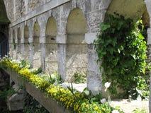 Akvedukt i Frankrike Arkivbilder
