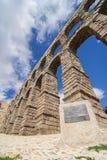Akvedukt i Segovia Arkivbilder