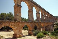 Akvedukt i Tarragona Royaltyfri Bild