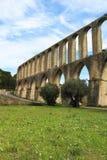 Akvedukten Pegões, Tomar Arkivfoton