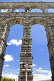 akveduktromanesque segovia Arkivbilder