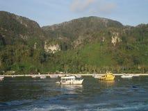 Akwalung łodzie. Zdjęcie Stock