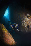 Akwalungu pikowanie w Thailand Obraz Stock