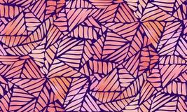 Akwarela abstrakcjonistyczny bezszwowy wzór Fotografia Royalty Free