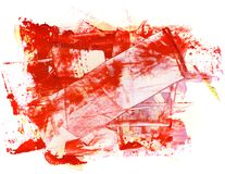 akwarela abstrakcyjna Obrazy Royalty Free
