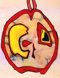 akwarela abstrakcyjna tło Zdjęcie Royalty Free