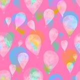 akwarela balon Fotografia Royalty Free