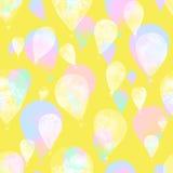 akwarela balon Obraz Royalty Free