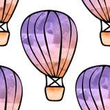 Akwarela balony Fotografia Royalty Free