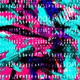 Akwarela bezszwowy wzór zdjęcie stock