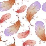 Akwarela bezszwowy wzór Zdjęcie Royalty Free
