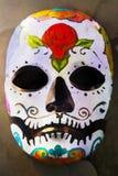 Akwarela dzień nieżywa maska fotografia stock
