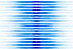 Akwarela jednakowy wzór z jaskrawymi niebieskimi liniami ilustracja wektor