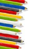 akwarela ołówki ilustracja wektor