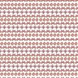 Akwarela plemienny bezszwowy wzór Geometryczni boho elementy Obrazy Stock
