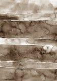 Akwarela rocznika papierowa tekstura z uszkadza, składa, i narysy zdjęcia royalty free