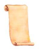 Akwarela stary papier Fotografia Royalty Free