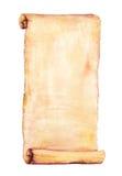 Akwarela stary papier Fotografia Stock