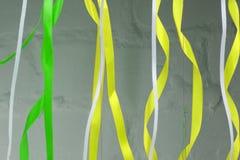 Akwarela sztandary dla teksta i faborki Kolekcja akwarela projekta elementy, faborki Ręka rysujący abstrakcjonistyczni kolorowi l Zdjęcia Royalty Free