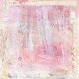 Akwarela textured tło w pastelowych kolorach Zdjęcie Royalty Free