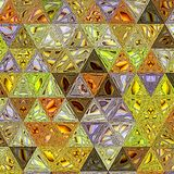 Akwarela trójboków wzór Nowożytny modnisia tło obrazy royalty free