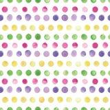 Akwarela wektorowy bezszwowy wzór Bezszwowy wzór może używać dla tapety jest, deseniowe pełnie, strony internetowej tło Obrazy Stock