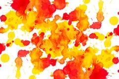Akwarela zaplamia tło zdjęcie royalty free