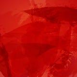 Akwareli abstrakcjonistycznego Wektorowego tła wielorybi czerwony abstrakt fotografia stock
