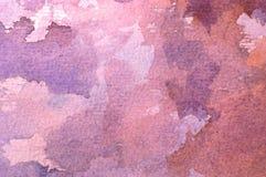 Akwareli abstrakcjonistyczny tło Obraz Royalty Free