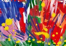 Akwareli abstrakcjonistyczny tło Obrazy Stock