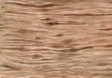 Akwareli drewna tekstura obraz stock