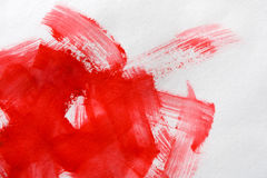 Akwareli farby muśnięcia uderzenia na papierowej teksturze ilustracji