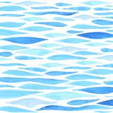Akwareli morza tło ilustracja wektor