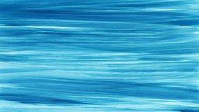 Akwareli muśnięcia błękitna biała ręka malujący uderzenia tło abstrakcjonistyczne niebieskie linie Żywe aquarelle fala Morze wzór royalty ilustracja