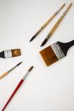 Akwareli paintbrush Zdjęcie Royalty Free