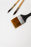 Akwareli paintbrush Obrazy Royalty Free