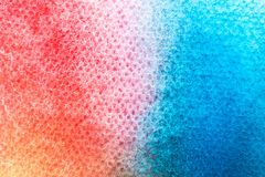 Akwareli sztuki ręki farba na białym akwareli tekstury tle zdjęcia royalty free