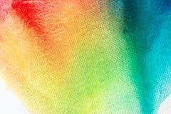 Akwareli sztuki ręki farba na białym akwareli tekstury tle zdjęcie royalty free