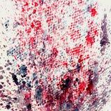 Akwareli tła abstrakcjonistyczny obraz, ręka rysująca na papier adry teksturze Menchie, zieleń Dla nowożytnego wzoru, tapeta Zdjęcia Stock