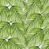 Akwareli tropikalna palma opuszcza bezszwowego wzór Zdjęcia Stock