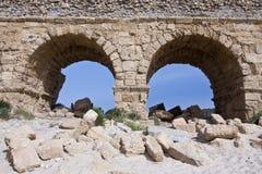akwedukt Caesarea Obraz Royalty Free