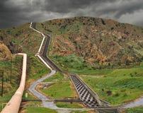 akwedukt California Zdjęcia Royalty Free