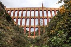 Akwedukt Puente Del Aguila, Nerja, Hiszpania Obraz Stock
