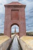 Akwedukt Puente Del Aguila, Nerja, Hiszpania kanał Zdjęcia Stock