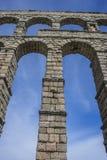 akwedukt rzymski Segovia architektoniczny zabytek oznajmiający patri fotografia royalty free