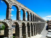 akwedukt rzymski Segovia Spain zdjęcia stock
